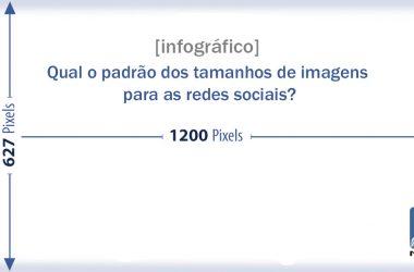 Qual o padrão dos tamanhos de imagens para as redes sociais?