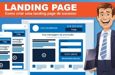 Como criar uma landing page de campeã de leads?